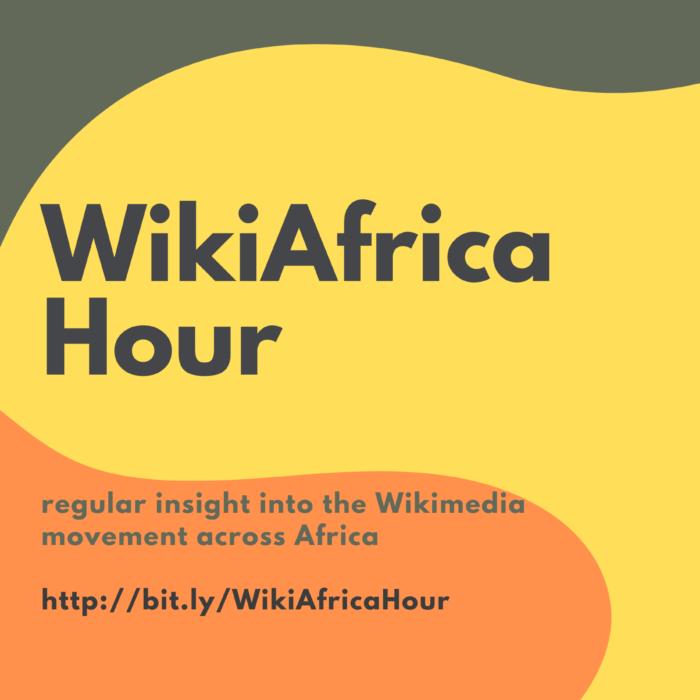 WikiAfrica Hour